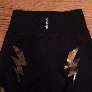 ultracor Pants & Jumpsuits - Ultracor Lightning Bolt Hugh Waisted Legging